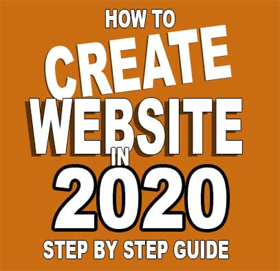 How To Create Simple Website In 2020 - Step by Step Guide