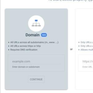 Ingrese el nombre de dominio para verificar