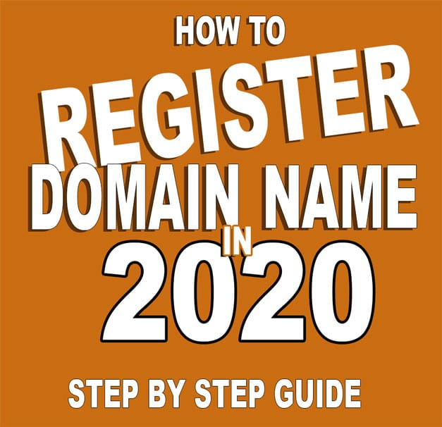 How To Register Your Domain Name In 2020 In 5 Easy Steps